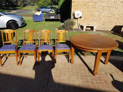 Antique table. antique chairs in Canberra Region  ACT   Gumtree Australia Free