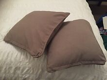 2 x olive throw cushions $5 Enfield Port Adelaide Area Preview