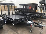 Heavy duty 12x6'6 tandem box trailer with rear ramp 6ft high Swan Hill Swan Hill Area Preview