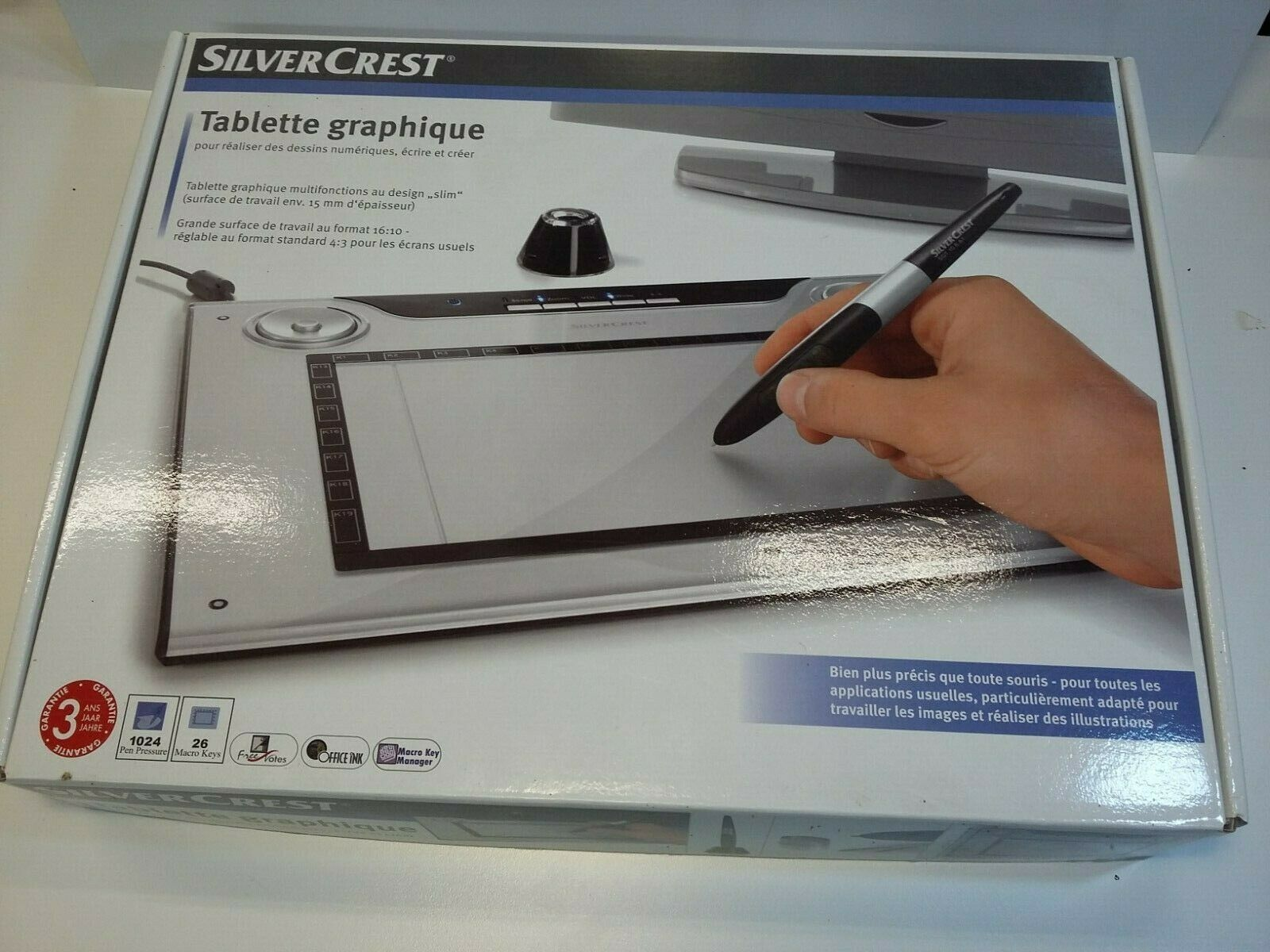 Tablette graphique silvercrest - sgt 10.6 a1