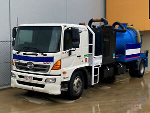 Hino FG 1628-500 Series 5,000Lt NDD Vacuum Excavator Vacuum Tanker Ormeau Gold Coast North Preview