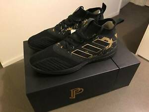 ADIDAS POGBOOM BLACK AND GOLD ACE AUS sz10