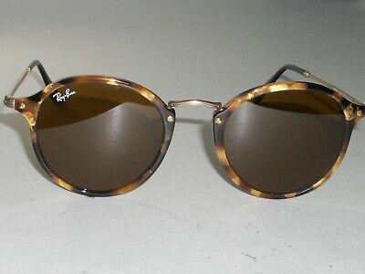 Ray Ban Rb2447 1160 49 21 145 Rund Landschildkröte B15 Braune Gläser