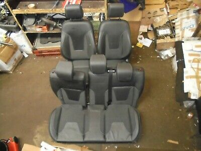 FORD FIESTA MK7 (2008 - 2017) SET OF HALF LEATHER SEATS (5 DOOR)
