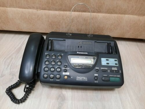 Vintage, old, retro, rarity, antiques, Fax Panasonic kx-ft26ru, Office equipment