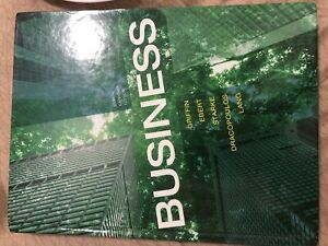 Business 8th canadian edition  (griffin, ebert)