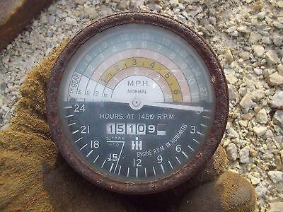 Farmall 400 450 350 300 Tractor Original Ih Ihc Tachometer Tach