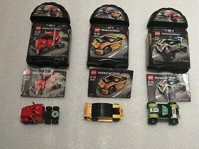 Lego Racers 8664 8666 8663