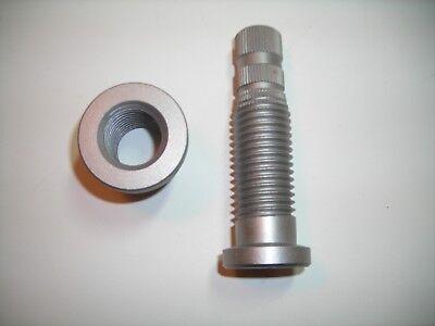 Van Norman 438 Crankshaft Grinder Chuck Plate Radial Adjustment Screw Assembly