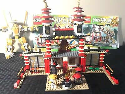 LEGO NINJAGO Temple of Light 70505 Complete w/ minifigs and instructions no box