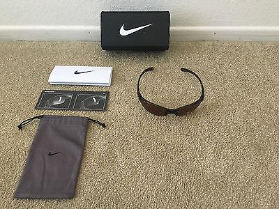 Brown Nike Skylon Sports Sunglasses EV0 630-001 Polarized Lenses New w/Tags Box
