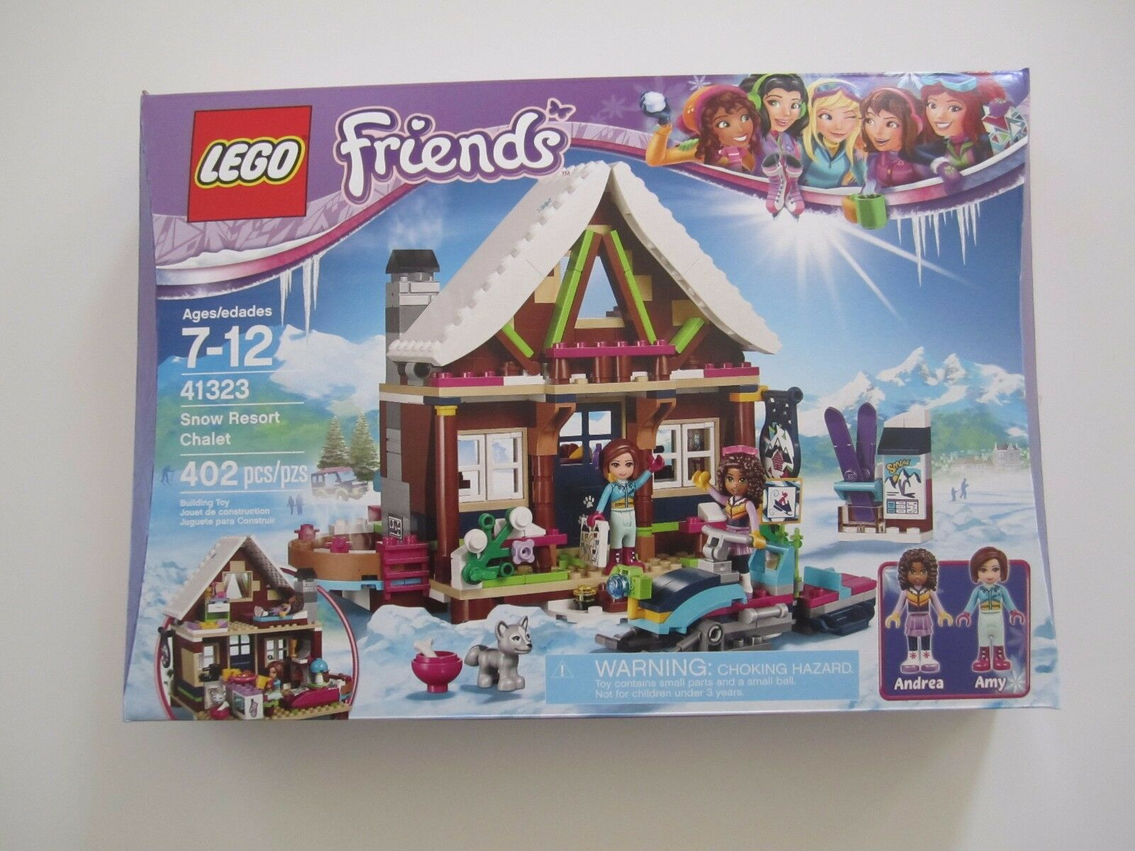 Lego Friends Snow Resort Chalet 41323 Building Kit (402 Piece) 9