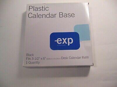 Plastic Calendar Base For 3-12 By 6 Desk Calendar Refill  R51