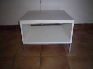 Small Solid White Coffee Table Ashmore Gold Coast City Preview