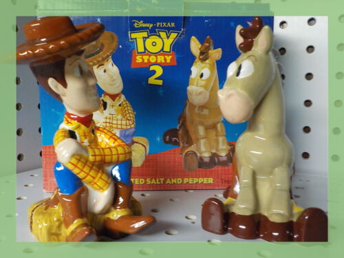 TOY STORY 2 SALT AND PEPPER SET