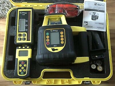 Sitepro Dual Grade Rotary Laser With Lcd Remote Control Slr202-gr