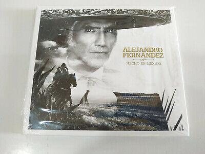 Alejandro Fernandez Hecho en Mexico Digipack 2020 - CD Nuevo - 2T
