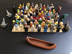 97 lego mini figures like new, star wars, lord of the rings ++