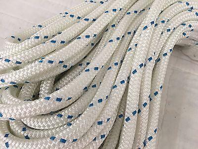 "Double Braid Polyester 1/2""x 100 feet yacht braid halyard line can be spliced"