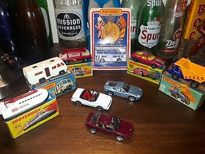 Lesney matchbox Superfast Maserati Freeman 6 car mint with original box plus 3