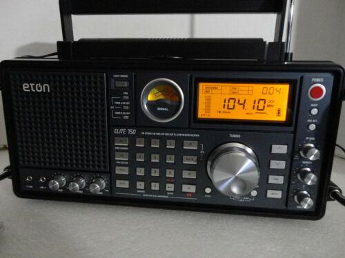 NEW open box ETON ELITE 750 AM/FM SHORTWAVE Aircraft band RADIO