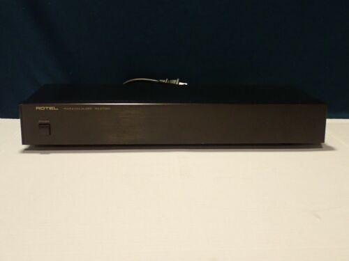 Rotel RQ-970BX Phono Preamp Equalizer MM MC, works well