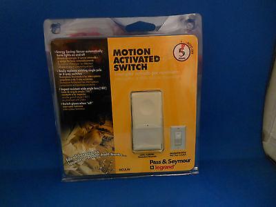 Pass Seymour Mculav Motion Switch 120 Volt 25-500 Watt 1 Pole 3 Way New