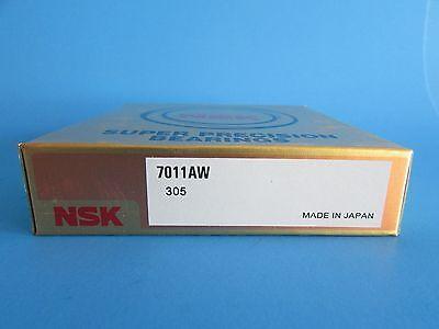 Nsk 7011aw Angular Contact Bearing 55mmx90mmx18mm