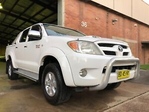 2007 Toyota Hilux SR5 4x4 3.0L D4-D Turbo Diesel Manual Dual Cab Mayfield West Newcastle Area Preview