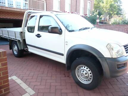 Holden Rodeo Ute Spacecab LX 4 x 2 White