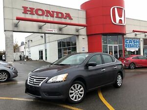 2014 Nissan Sentra S, very economical driving