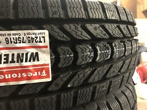 LT 245/75/16 Firestone Winterforce 10 PLY