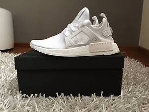 Adidas NMD XR1 Primeknit Vintage White size 6.5 Parramatta Parramatta Area Preview