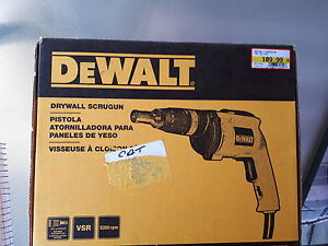 Dewalt Drywall Scrugun