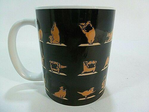"""""""Pug Doing Yoga""""   Coffee Mug"""