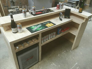 Beautiful Home Bar Counter, Micro Pub, Man Cave Summer house patio bar 009