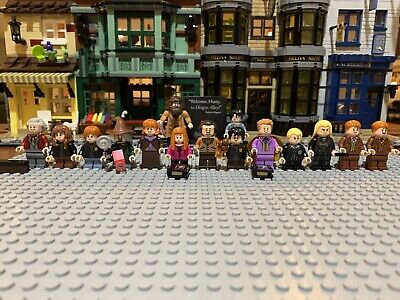 LEGO Harry Potter Diagon Alley 75978 Mini figures Only + 40412