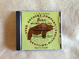 Bear-Archery-Catalogs-1948-to-1978-The-Grayling-Years-CD