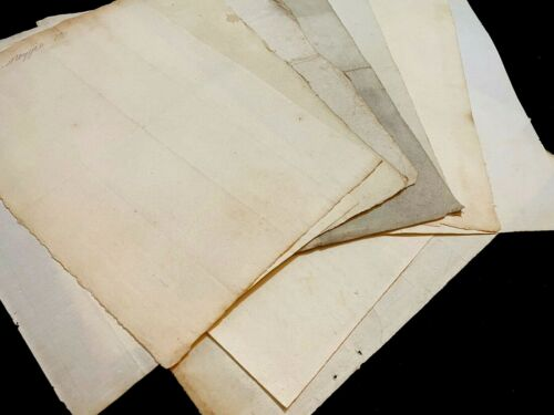 RESTORATION PAPER COLLECTION from XVIII Century