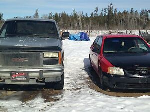 Package deal car and truck