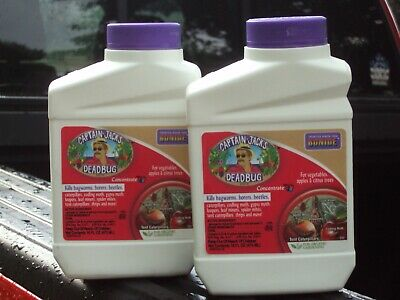 - Bonide 16oz. Captain Jack Dead Bug Brew Concentrate. Two New, Factory Sealed