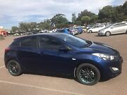 Hyundai i30 hatchback blue 2013 Toukley Wyong Area Preview