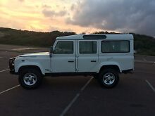 2001 AUTOMATIC Land Rover Defender Wagon Buff Point Wyong Area Preview