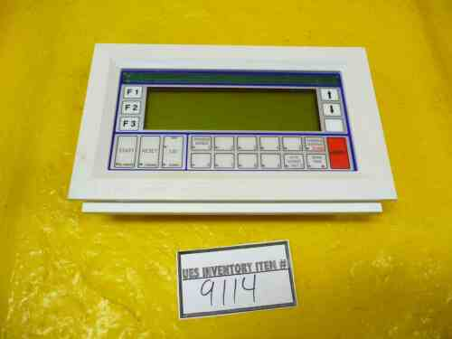 SCP Santa Clara Plastics 3270091G Process Controller SCP 9200 Wet Bench Used