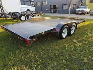 3t 15ft Beavertail car trailer (Positive Quality Trailers) Clontarf Redcliffe Area Preview