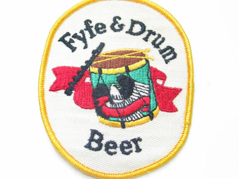 Fyfe & Drum Beer Patch