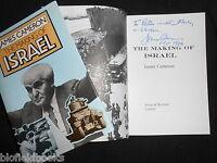 Signed Copy: The Making Of Israel - James Cameron - 1976-1st, Israeli History -  - ebay.co.uk