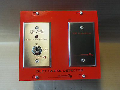New Edwards Duct Smoke Detector 6265b-002 Duct Detector Housing Fire Alarm