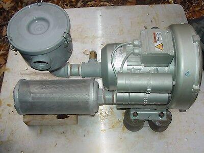 Elmo Rietschle Gardner Denver Blower Vacuum Gbh1 2bh1430-7av25-z