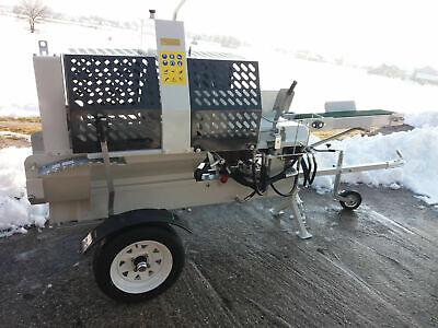 FINK Holzsägespaltautomat HSSA12TE, Holzspalter Spaltautomat 7,5kW 12T E-Motor